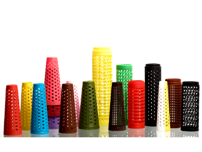 Perforated Dyeing Cones & Cheeses